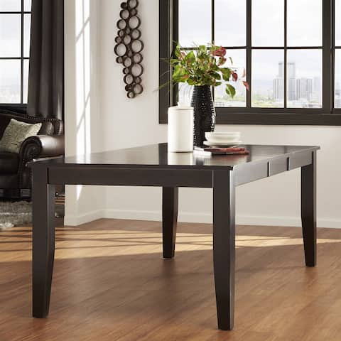Acton Warm Merlot Casual Extending Dining Table by iNSPIRE Q Classic - Brown