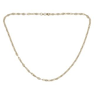 Decadence 14k Gold Diamond-Cut Mariner Necklace
