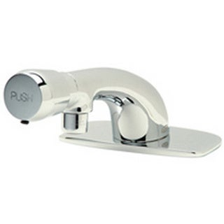 Zurn XL Single Basin Metering Front Push CP4 Faucet