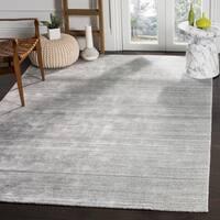 Safavieh Handmade Mirage Modern Ash Wool/ Viscose Area Rug - 6' x 9'