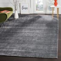Safavieh Handmade Mirage Modern Graphite Wool/ Viscose Rug - 6' x 9'