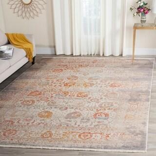 Safavieh Vintage Persian Grey/ Multi Distressed Silky Rug (6' x 9')