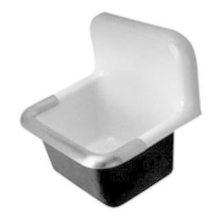 Zurn CI Service Sink with an 8-inch Center (22 x 18)
