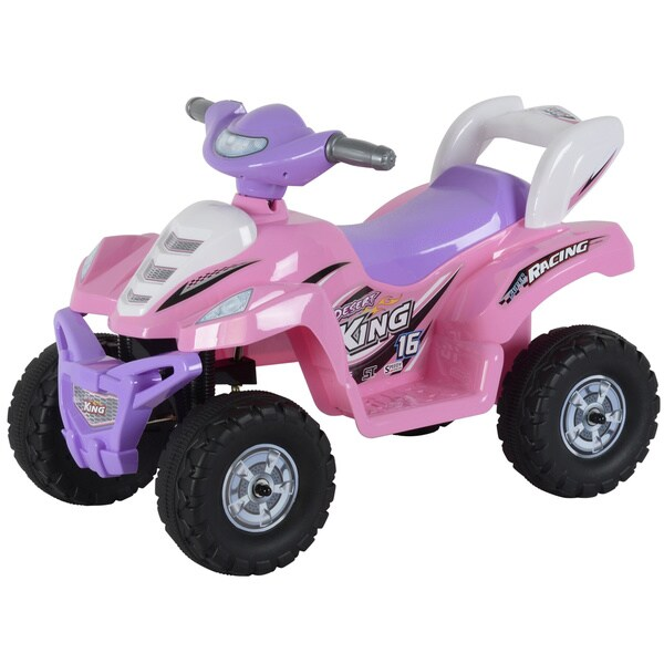 Best Ride On Cars Little ATV Pink