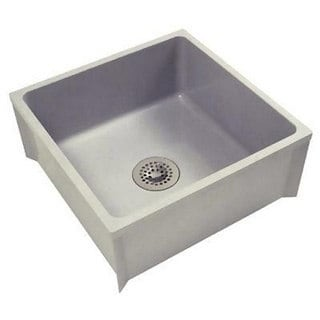 Zurn Z1996 Mop Basin W/PVC Drain Assembly Sink (24 x 24)