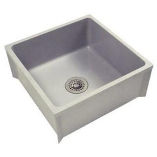 Stainless Steel Mop Sink 24x24 : Zurn Z1996 Mop Basin W/PVC Drain Assembly Sink (24 x 24) - Free ...