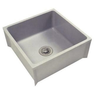 Shop Zurn Z1996 Mop Basin W Pvc Drain Assembly Sink 24 X