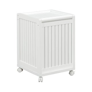 Link to NewRidge Home Solid Wood Abingdon Mobile Hamper with Lid & Casters Similar Items in Art Prints