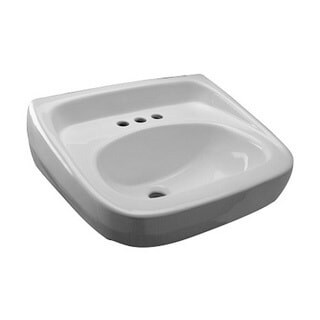Zurn (k) Standard Arm Lav Sink with 4-inch Center (20 x 18) Z5344