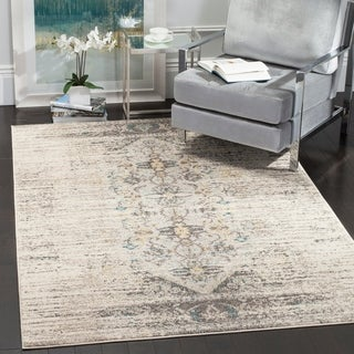 Attractive Safavieh Monaco Vintage Distressed Grey / Multi Distressed Rug (5u0027 1 X 7u0027