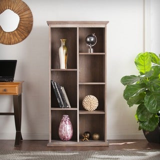 Harper Blvd Manuel 60-Inch Burnt Oak Display Shelf