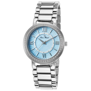 Lucien Piccard Alice Stainless Steel Light Blue Mother of Pearl Dial Watch