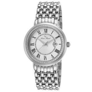 Lucien Piccard Fantasia Stainless Steel Silver-Tone Dial Watch