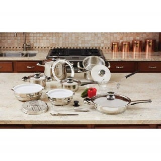 Chef's Secret 12-Element Stainless Steel 22 Piece Kitchenware Set