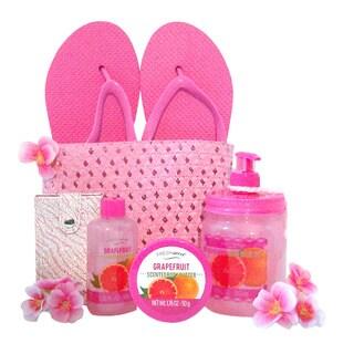 Tickle Me Pink Spa Tote