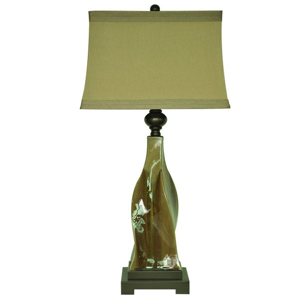 Canyon Creek Earth Tone 34-inch Table Lamp