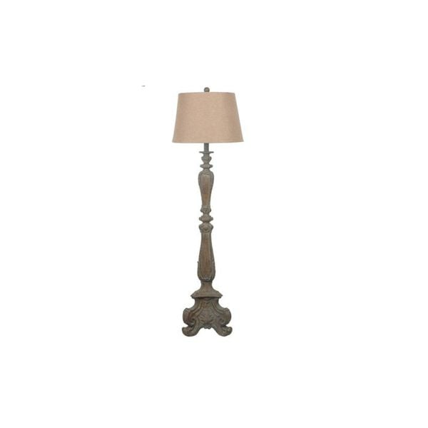 Antique Shutter Antique Grey Wash 31-inch Table Lamp