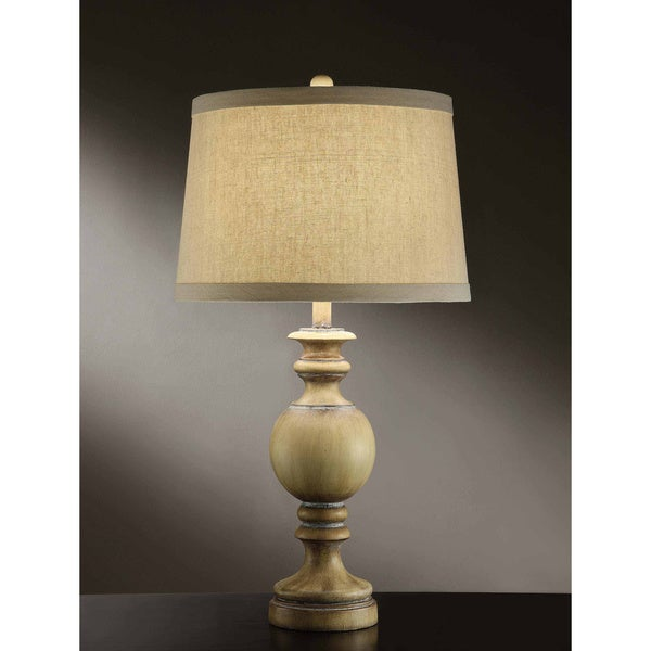 Shady Cove Sun Bleached Taupe 30-inch Table Lamp