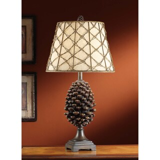 Pine Bluff Natural Pinecone 30-inch Table Lamp