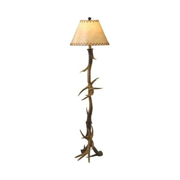 Crestview Collection 66-inch Natural Antler Floor Lamp