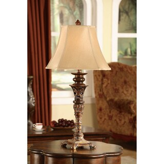 Crestview Collection 60.5-inch Gold Floor Lamp