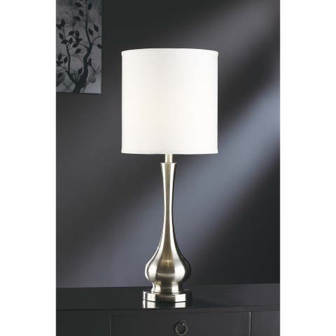Camden Brushed Nickel 31.75-inch Table Lamp