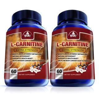 L-Carnitine Pure Essential Amino Acids 1000mg (60 Capsules)