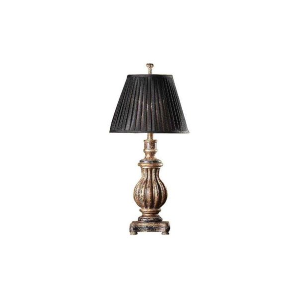 Crestview Collection 27-inch Italian Bronze Table Lamp