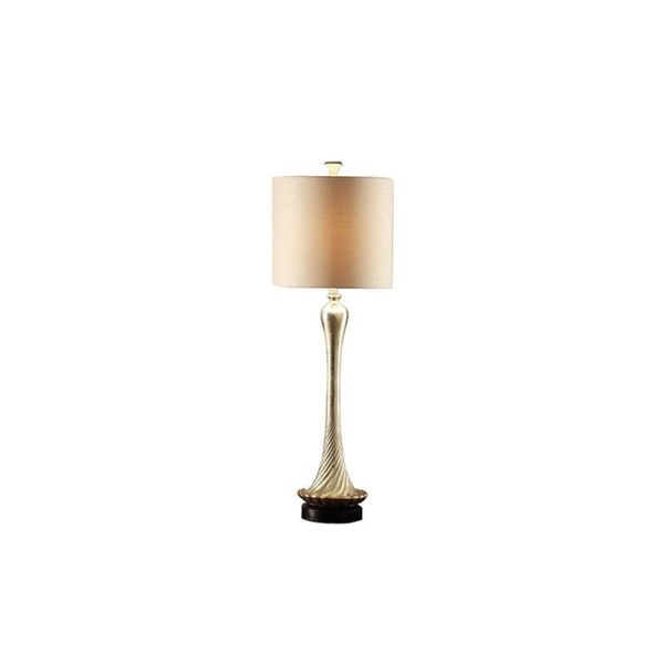 Crestview Collection 41.5 in. Silver Leaf Table Lamp