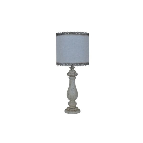 Crestview Collection 32-inch Tan Fresco Table Lamp
