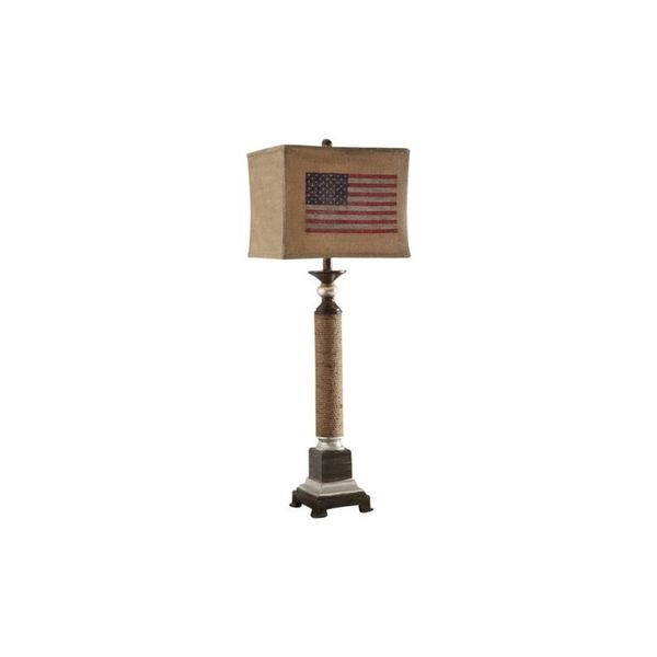 Crestview Collection 39 in. Nantucket Table Lamp