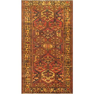 ecarpetgallery Hand-knotted Persian Bakhtiar Beige and Brown Wool Rug (5'5 x 10'2)