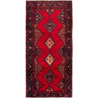 ecarpetgallery Hand-knotted Persian Classic Persian Red Wool Rug (5'2 x 10'6)