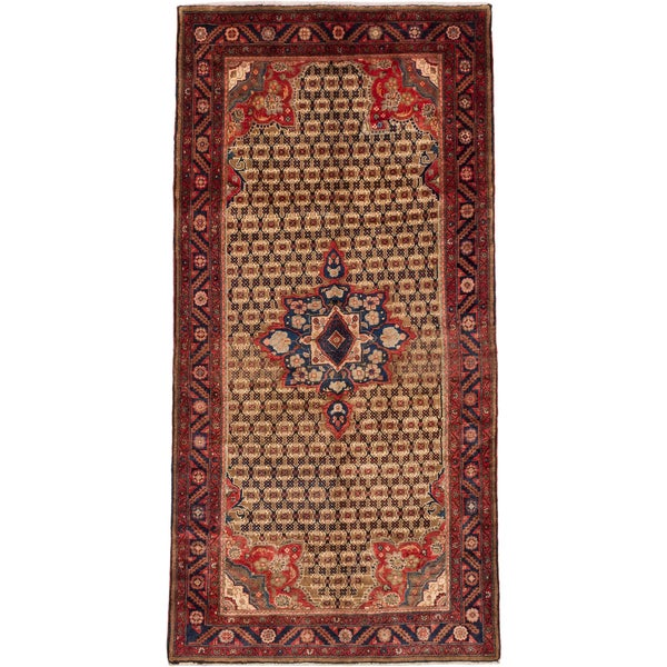 Hand Knotted Persian Wool Area Rug 5 10: Shop Ecarpetgallery Hand-knotted Persian Koliai Brown Wool