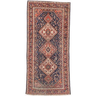 ecarpetgallery Hand-knotted Persian Meshkabad Blue Wool Rug (5' x 10'11)