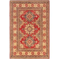 ecarpetgallery Hand-knotted Finest Gazni Red Wool Rug (7'2 x 10'5)