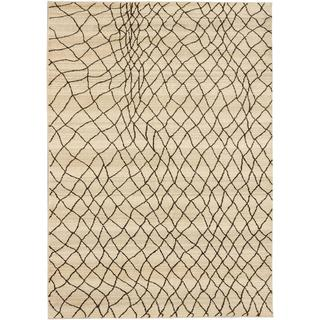 ecarpetgallery Atlas Marrakech Beige Polypropylene Rug (7'10 x 10'10)