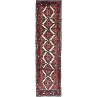 ecarpetgallery Hand-knotted Persian Koliai Beige and Brown Wool Rug (2'5 x 9'3)