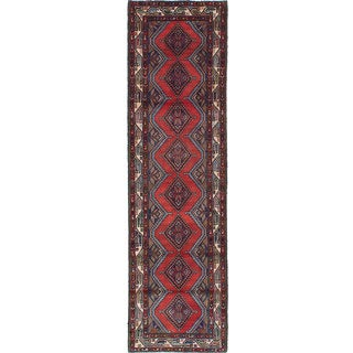 ecarpetgallery Hand-knotted Persian Koliai Red Wool Rug (2'7 x 9'2)