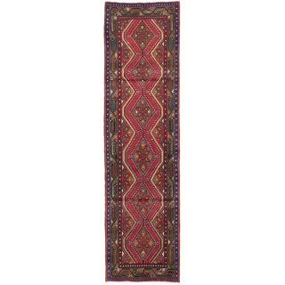 ecarpetgallery Hand-knotted Persian Koliai Red Wool Rug (2'7 x 9'7)