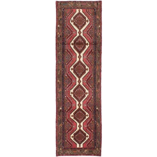 ecarpetgallery Hand-knotted Persian Koliai Red Wool Rug (2'10 x 9'6)