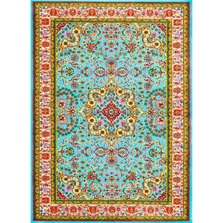 Persian Rugs Modern Trendz Oriental Area Rug (5'2 x 7'2)