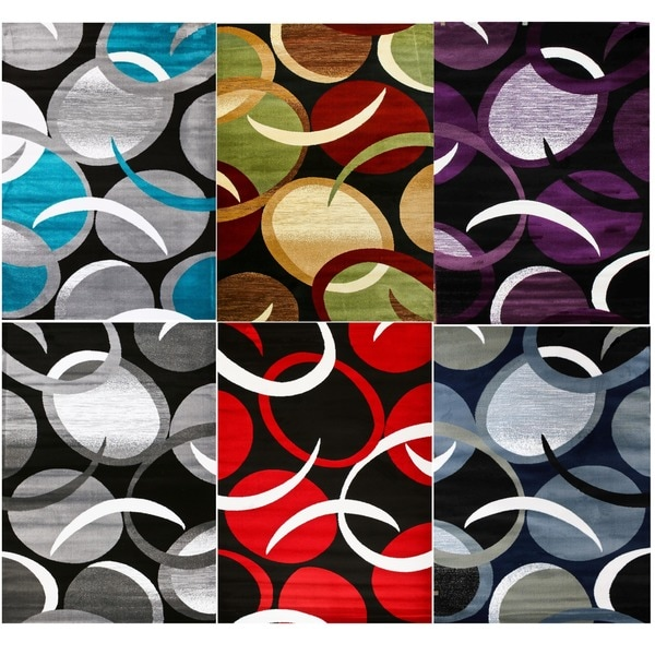 "Persian Rugs Modern Trendz Abstract Area Rug - 7'10"" x 10'6"""