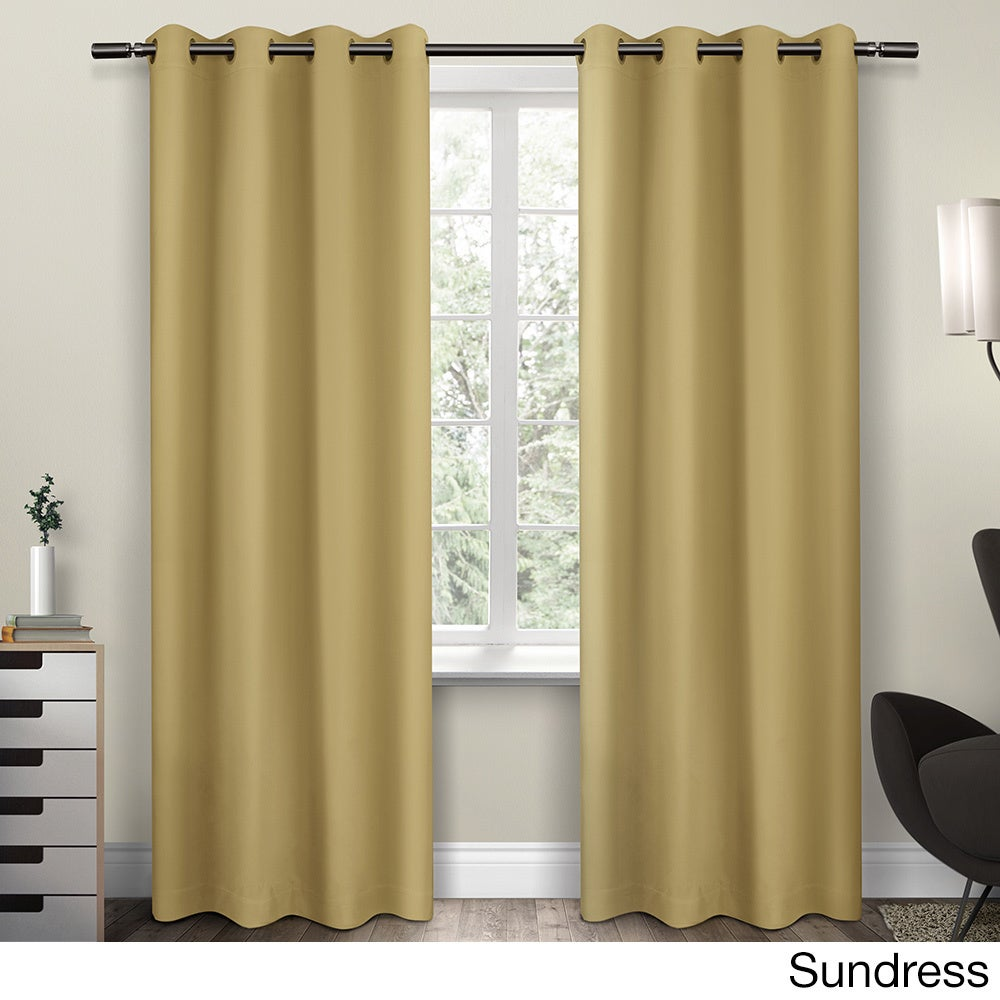 Clay Alder Home McClugage Sateen Twill Weave Insulated Blackout Window  Curtain Panel Pair (4 Options