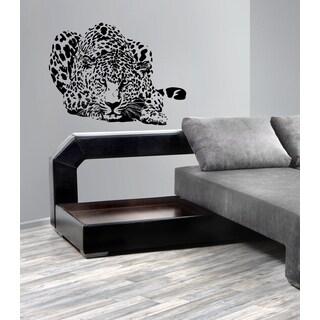 Chic leopard Wall Art Sticker Decal