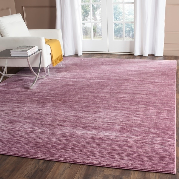 Safavieh Vision Contemporary Tonal Purple/ Pink Area Rug - 9' x 12'