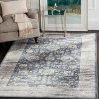 Safavieh Vintage Oriental Dark Grey/ Cream Distressed Rug - 8' x 10'