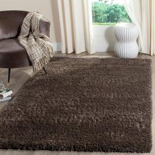 Safavieh Indie Shag Dark Grey Polyester Rug (8' x 10')