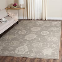 Safavieh Vintage Grey/ Ivory Distressed Rug - 8' x 11'