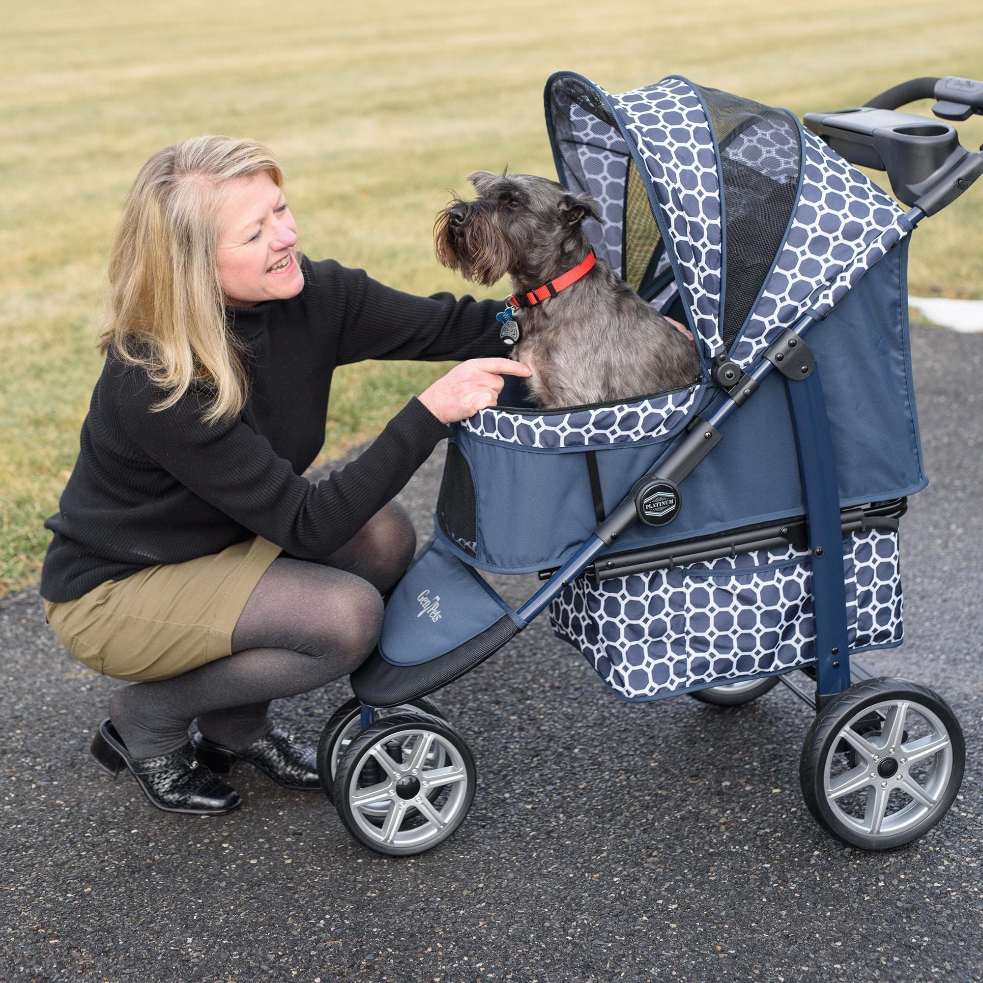 Gen7Pets Monaco Pet Stroller (Monaco Pet Stroller-Dress B...